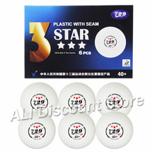 Original Table Tennis Balls 729 Friendship 3 star Seam 40+ Plastic New Material Ittf Approved Poly Ping Pong Balls