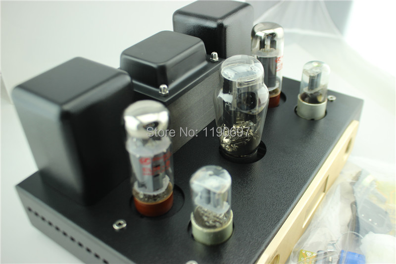 EL34B Single Ended Tube Amplifier 5Z3P Rectifier Tube 6N9 Tube Hifi Stereo Audio DIY EL34+6N9+5Z3P AUDIO DIY Kit цена