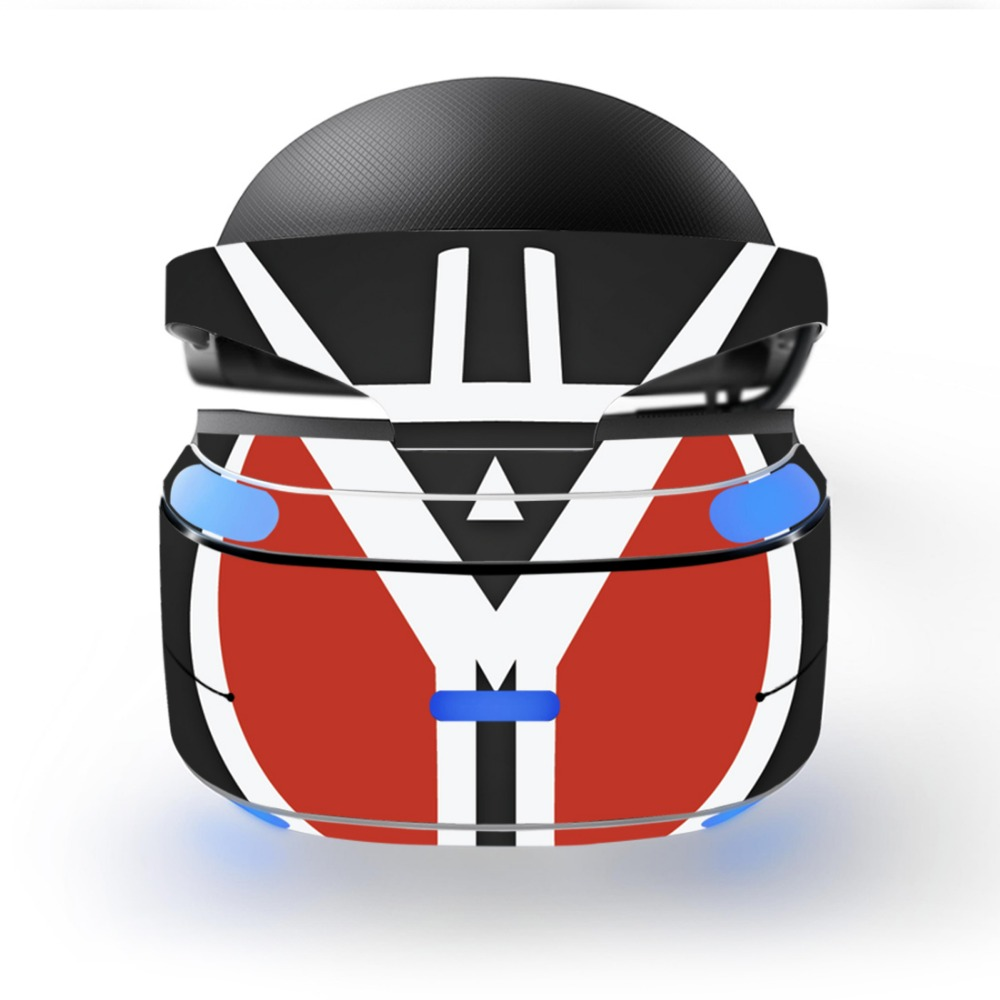 VR0004 Game accessories for Vinyl Skin Decal for PS VR Sticker Skins, for PS4 All models
