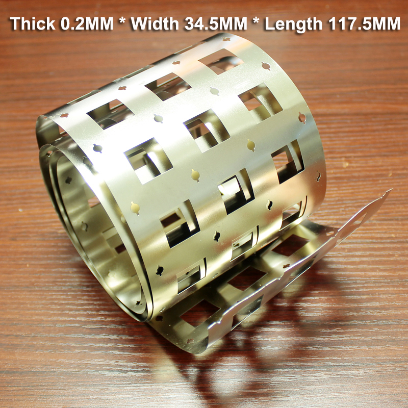 1kg 32650 lithium battery pack nickel plated 32700 assembly connection high current spot welding and nickel