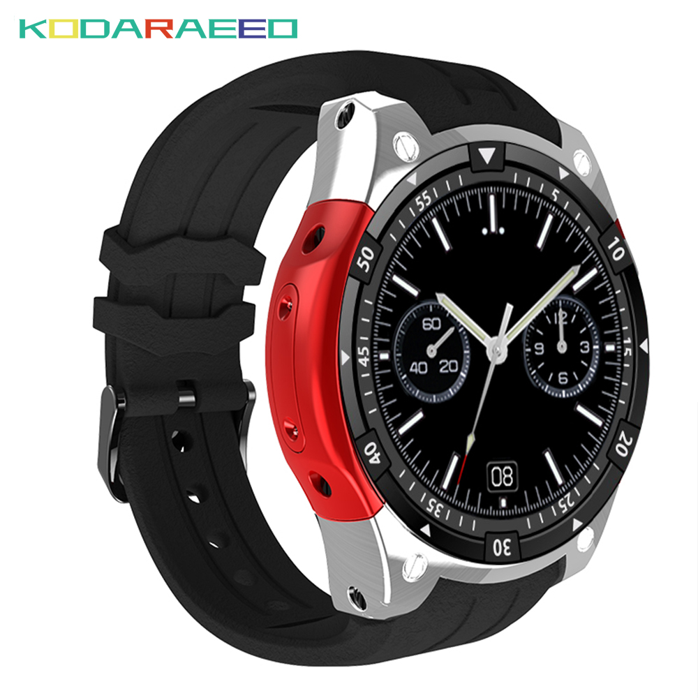 <font><b>X100</b></font> Smart Watch ROM 8GB 3G GPS WiFi Android 5.1 Bluetooth <font><b>SmartWatch</b></font> Heart Rate tracker Meter Step Watchs PK GW06 Q1 Q1 Pro image