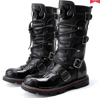 b4e6b1b65b236 winter men snow boots waterproof black lace up boots mens leather boots  motorcycle men designer shoes Army Military male boots
