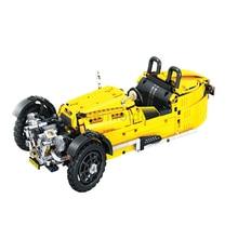 838pcs Technic City Classical Tricycle Model Building Blocks Sets Bricks Kids Classic Toys For Children Legoings Car DBP380