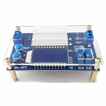 12A Step Down moduł regulowany Buck płytka zasilająca z cyfrowy wyświetlacz LCD moduł Buck