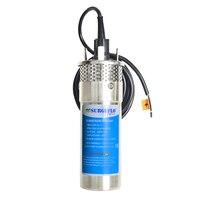 Farm Ranch Submersible DC Solar Water Pump 2018 Battery pump solar 12v pump stainless steel solar power garden pump