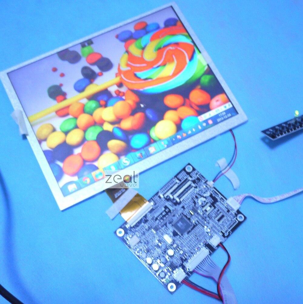 10,4 дюйма VGA + AV Драйвер доска + 10,4 дюйма 800*600 A104SN03 4:3 ЖК панель + сенсорный экран USB контроллер