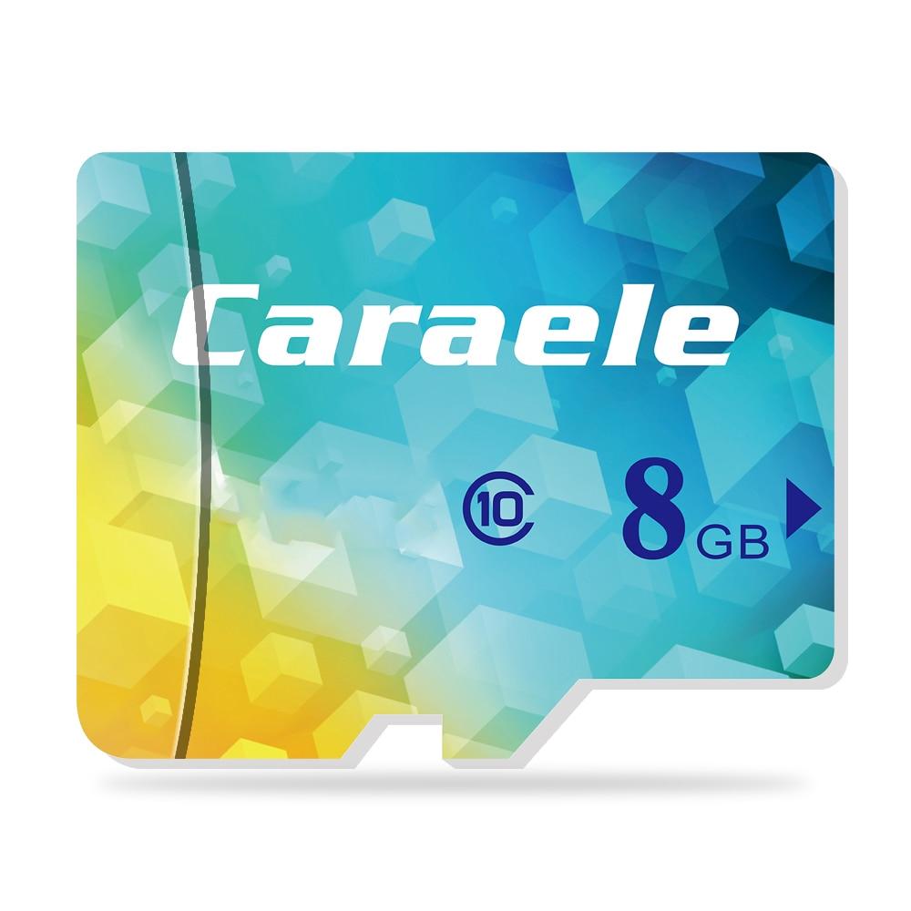 Caraele Real Capacity Microsd 64GB TF Card 32GB 16GB 8GB Mic