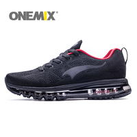 ONEMIX Air Running Shoes Music Rhythm Sneakers Breathable Mesh Outdoor Athletic Shoes Light Jogging Sneakers MAX 12