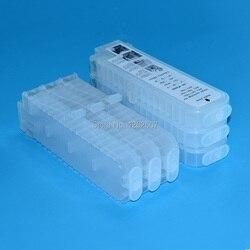 PFI-107 107 pfi107 drukarki luzem Ciss kartridż do drukarki do ponownego napełnienia kartridż do Canona IPF670 iPF680 iPF685 iPF770 iPF780 drukarki 280 ml 6 kolor
