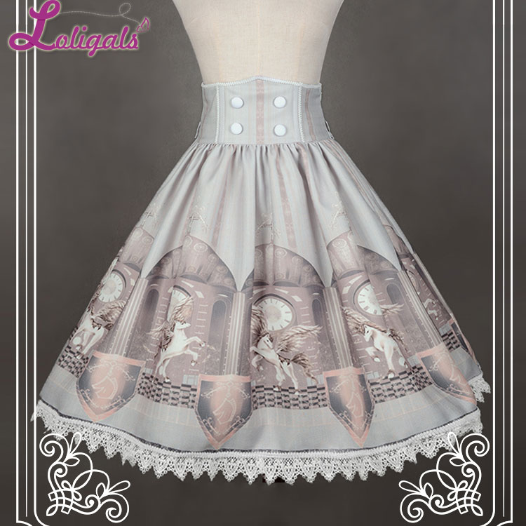 Здесь продается  Time Guardian High Waist A Line Skirt by Soufflesong *Custom Tailoring Available*  Одежда и аксессуары
