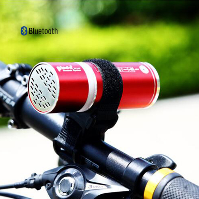 6fafe3aaa6 Mountain bike riding outdoor wireless Bluetooth stereo subwoofer portable  mini card small speaker radio