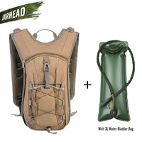 Camelback Water Bag Tank Backpack Hiking Motorcross Riding Backpack with 3L Water Bag Hydration Bladder For Cycling Camping