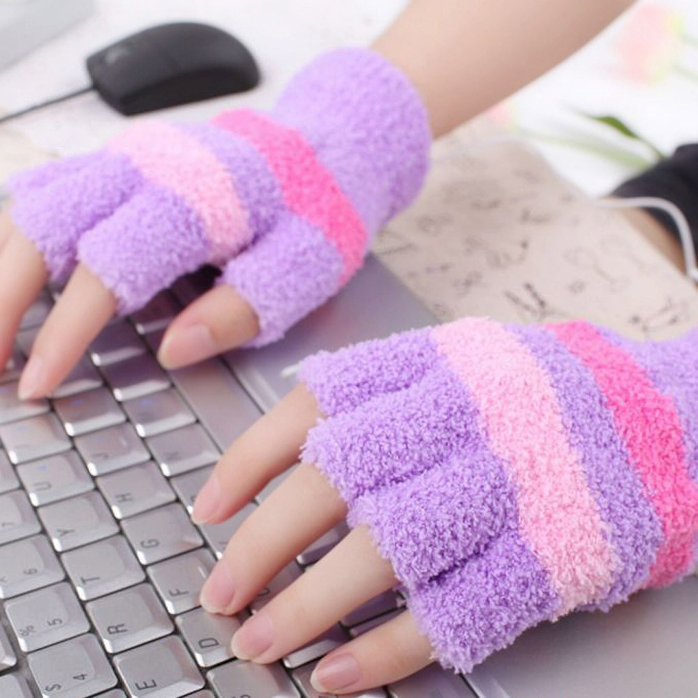 Heißer Verkauf Neue 1 Para Usb Handschuhe Heizung Winter Warme Handschuhe Erhitzt Fingerlose Warmer Handschuh Für Frauen Skifahren Handschuhe S10 Se12 Sport & Unterhaltung