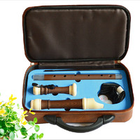 Tenor Flute Clarinet English style 8 Hole Flute Bass Music Instruments Chinese Vertical Flauta Plating Wood Grain Tenor Flute