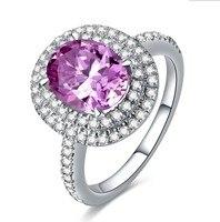 Роскошные Сона 6 карат, кольцо CZ стерлингового серебра обручальное кольцо (YD)