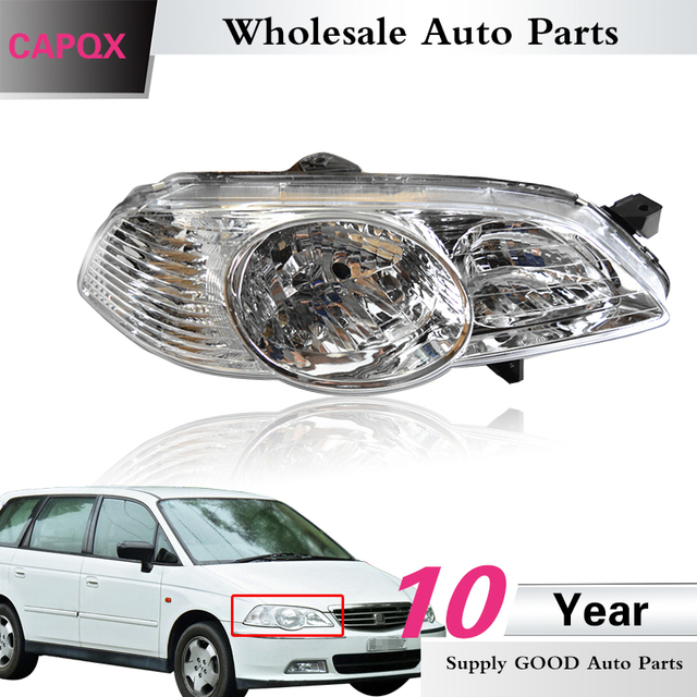 Capqx For Honda Odyssey Ra6 2002 2003 2004 Front Headlamp Headlight Head Light Lamp 33151 Scp W01 33101