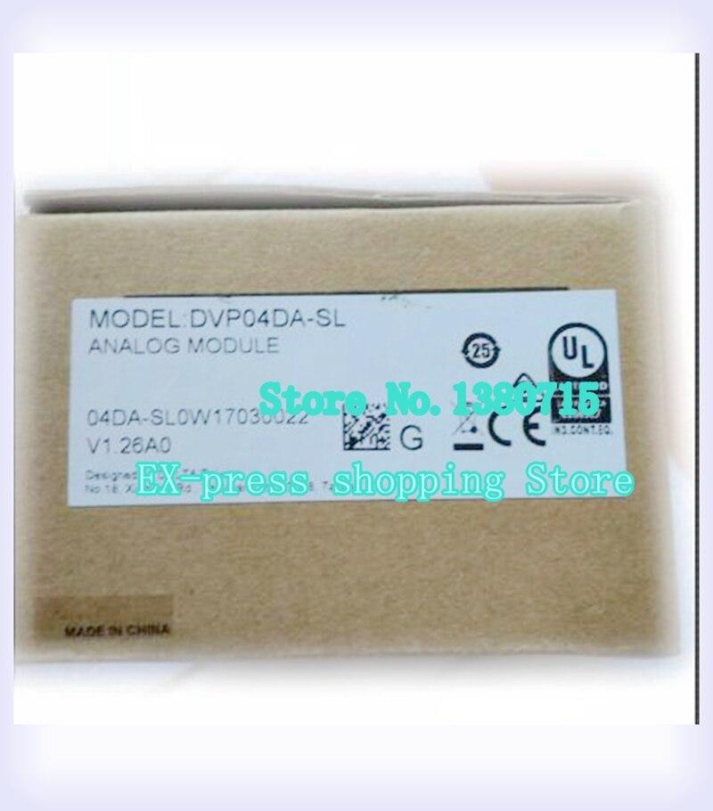 New Original DVP04AD-SL DVP04DA-SL DVP01LC-SL DVP201LC-SL PLC Module