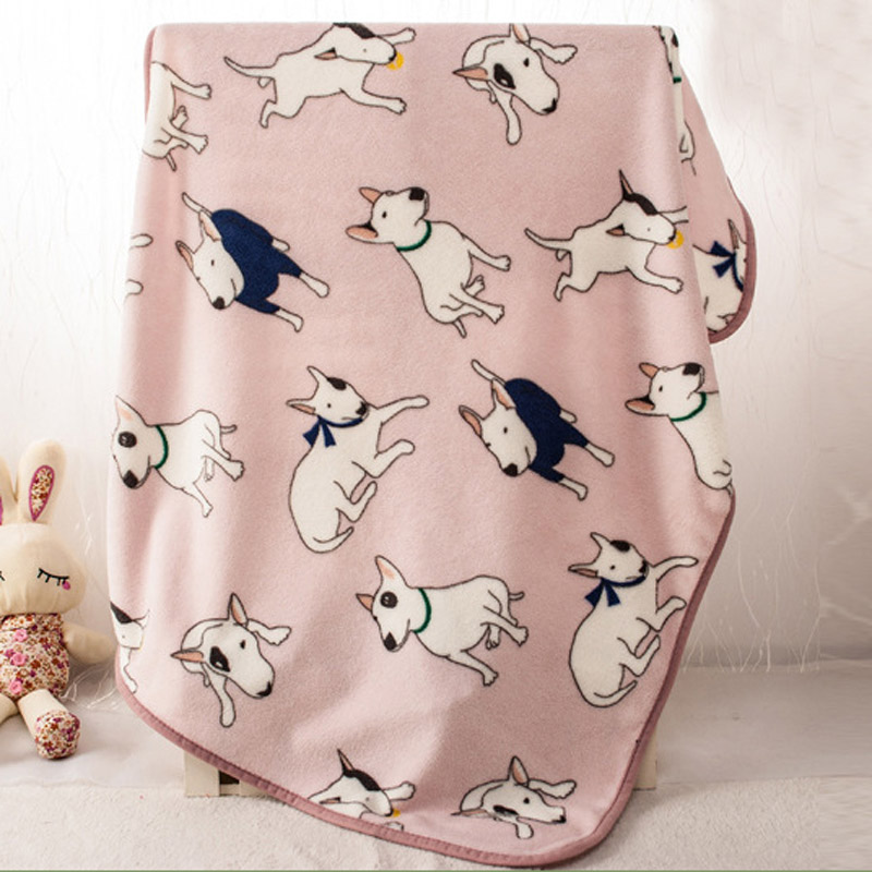 Pink Bull Terrier