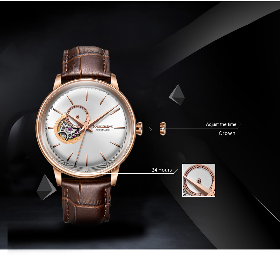 HTB18yusczfguuRjy1zeq6z0KFXaq MEGIR Automatic Mechanical Watches Top Brand Luxury