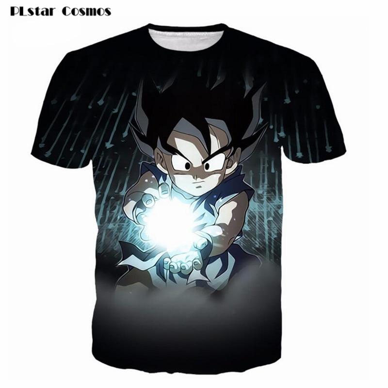 Këmishë Ballstar Cosmos Dragon Ball Super Z 3D Printo Goku Super - Veshje për meshkuj - Foto 1