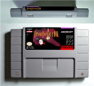 Final Fantasy III 3 - RPG Game Battery Save US Version image