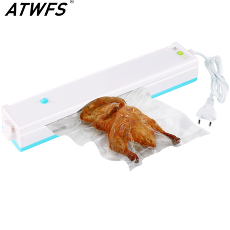 Household Portable Vacuum Sealer Food Saver Vacuum Packaging Machine Vacuum sealing machine with 15pcs Bags free dhl ems food saver v3240 vacuum sealer a1