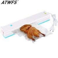 Household Portable Vacuum Sealer Food Saver Vacuum Packaging Machine Vacuum Sealing Machine With 15pcs Bags Free