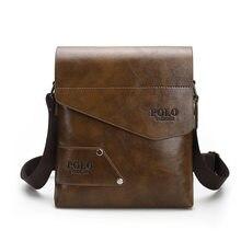 d6e9d8879f10 Успешных мужчин надо! Высокое качество кожаная сумка для парня Сумочка с  длинным поясом сумка мужские