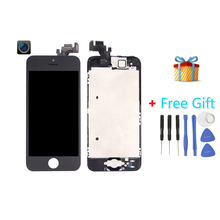 iPartsBuy 4 in 1 for iPhone 5 (Front Camera + LCD + LCD Frame + Touch Pad) Digitizer Assembly