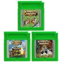 Video Game Cartridge 16 Bit Game Console Card Harvestt Moon Series Games