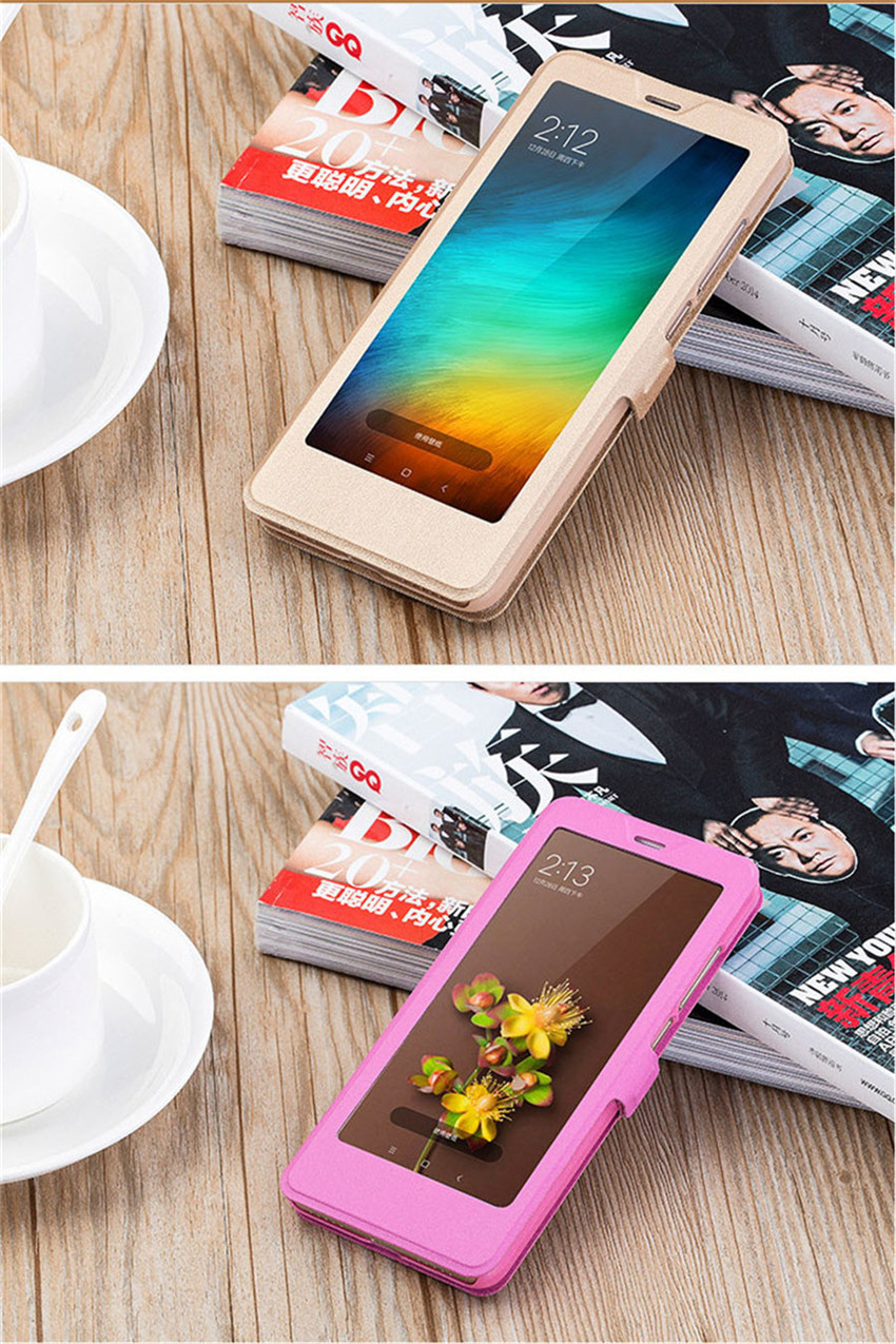Full Window Stand Leather Case For Xiaomi Redmi 6A Case Smart Flip Cover For Xiaomi redmi 6A Redmi6 6 Pro Xiaomi Cases (6)