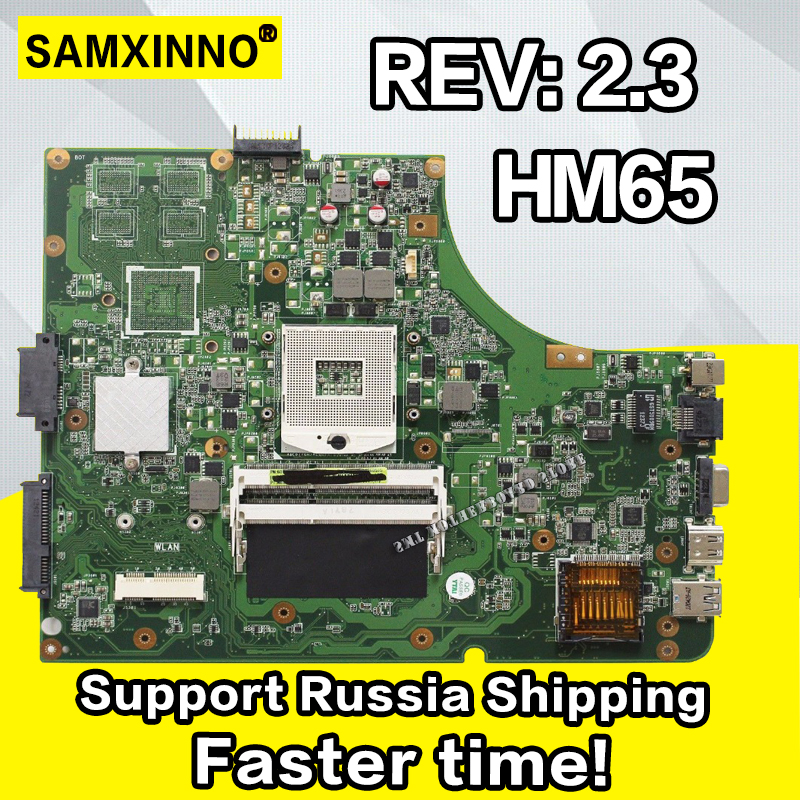 K53E płyta główna HM65 Rev: 2.3 RAM dla ASUS A53S K53S A53E K53SD laptopa płyty głównej płyta główna w K53E płyty głównej płyta główna K53E test płyta w 100% OK w Płyty główne od Komputer i biuro na AliExpress - 11.11_Double 11Singles' Day 1