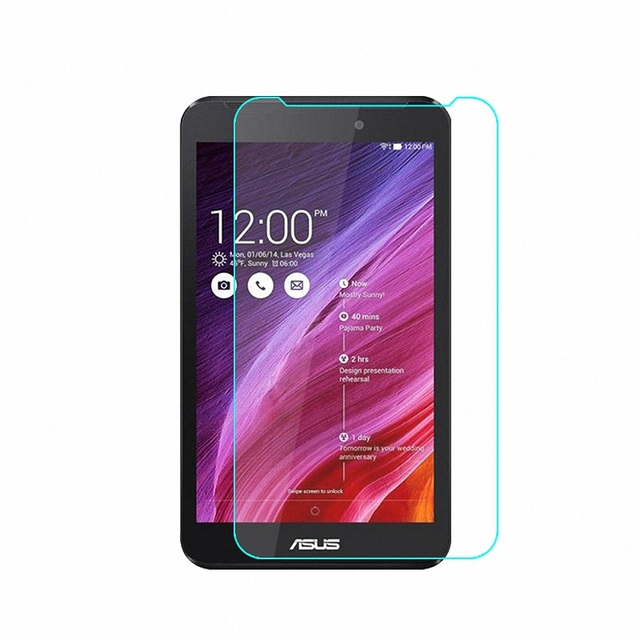 "Tempered Glass Screen Protector Guard CASE Film for Asus Fonepad 7 FE170CG FE170 FE175CG FE175 K012 7.0"" Glass Film"