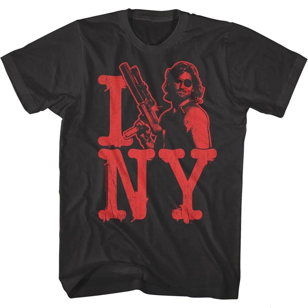 Escape From New York <font><b>I</b></font> <font><b>Love</b></font> <font><b>NY</b></font> Men's T <font><b>Shirt</b></font> Snake Plissken Kurt Russell Action image