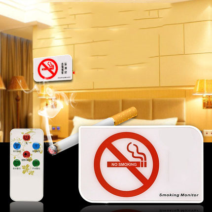 Smoke Alarm Highly Sensitive Toilet Smoke Detection Alarm Detector Anti-Smoking
