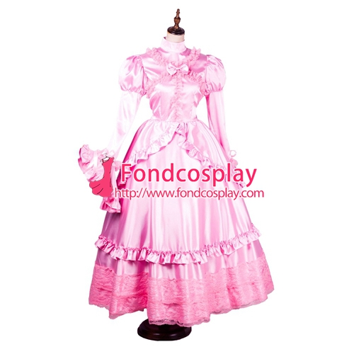 Gothic pink dress Fondcosplay