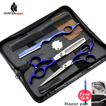 30% OFF 5.5,6 inch Professional Hairdresser Scissors Japan Barber Shear set Hair Cutting Scissor Thinning Scissor Hairdressing image