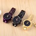 Модные нейтральные часы для девочек  машали  тяжелые металлы  стальные часы  блестящие  ночное небо  кварцевые наручные часы  Montre Femme Relojes W065