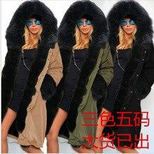 Украина Прямых Продаж Полиэстер Твердые Молния Толщиной Полная Broadcloth 2016 Новая Зима Теплая Верхняя Одежда Длинный Тонкий Капюшоном Пальто