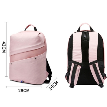 HeloFrn Casual Backpack Female Pink USB Laptop Women Canvas Backpack For Girl Teenagers Student Men Bag Pcak Watreproof Mochila