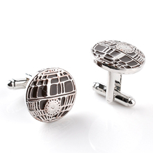 New Brand Cufflinks 2016 Men Jewelry French Shirt Star Wars Design High Quality Wedding Gift Enamal Car Badge Logo Cuff Links