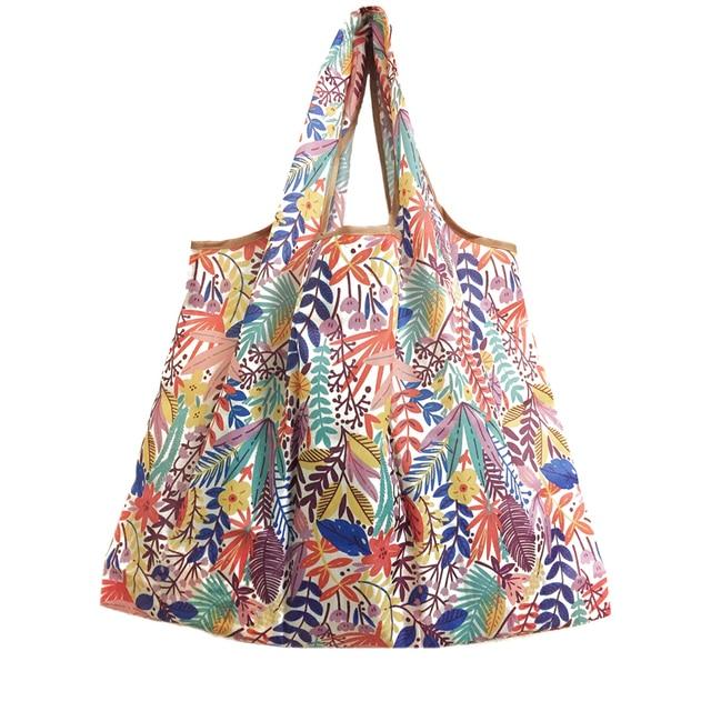 Foldable Reusable Shopping Tote Bag 5
