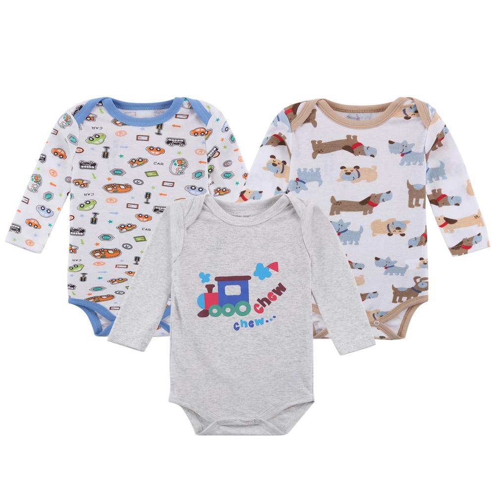 61da71dd407b 2017 New Baby Boys 100% Cotton Rompers Boys Jumpsuit Costume Newborn ...