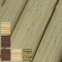 Соломенная натурального бамбука завод обои в рулонах для Потолки Гостиная фон 3d в полоску обои
