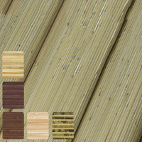 Straw Natural Bamboo Plant Wallpaper Rolls for Ceilings Living Room Background 3d Stripe Wall paper Wallcoverings