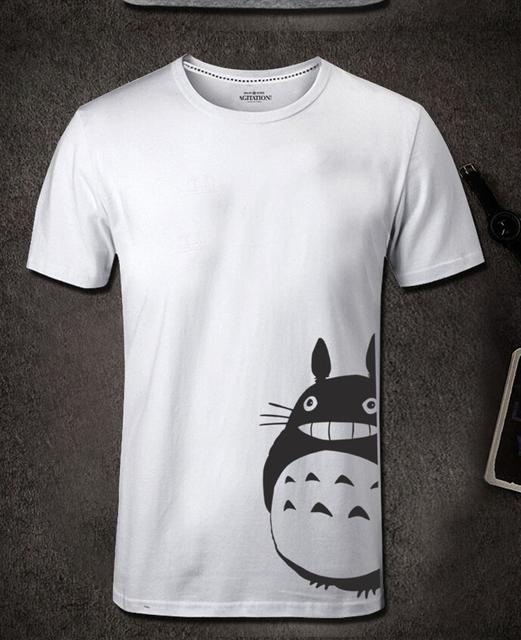Totoro Men Casual Short Sleeve Tee