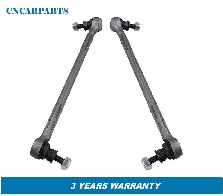 2pcs Front stabilizer Sway Bar link fit for BMW 1er E81 Cabriolet E88 3er E90 316 Cabriolet E93 E92 335i 31356765933 31356765934