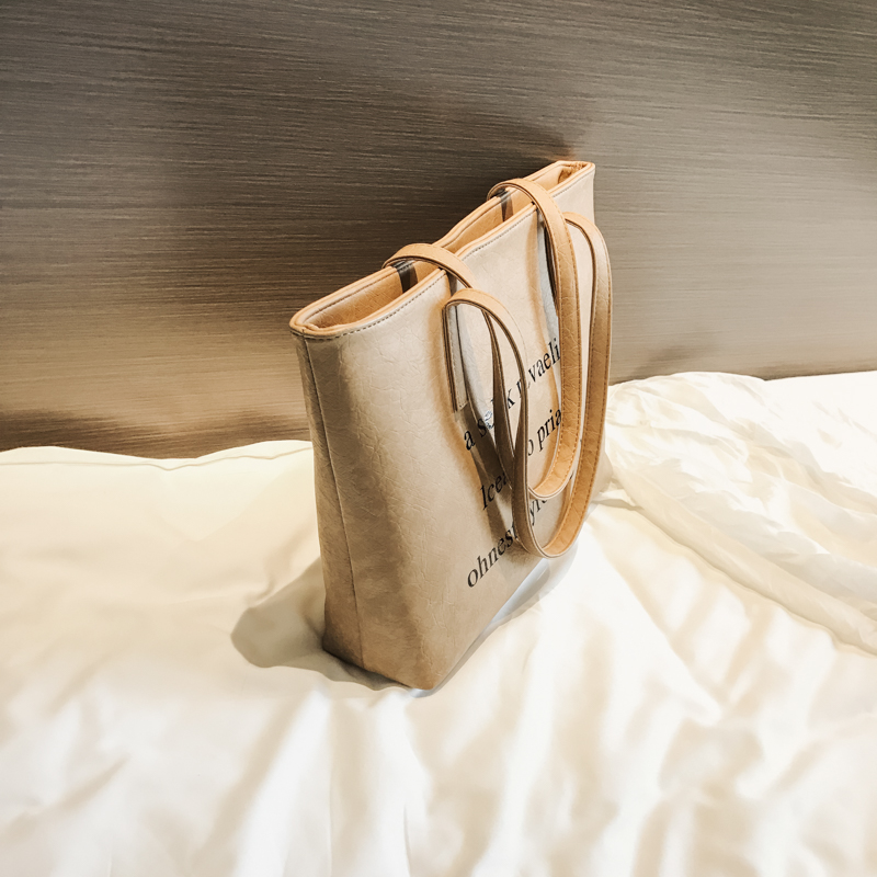 Kunzite Soft PU Leather Tote Bag for Women Leather Handbags Casual Ladies Hand Bags Large Capacity Shopper Shoulder Bag Bolsos 3
