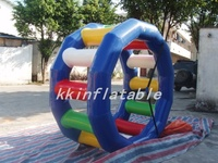 inflatable water walking roller water roller wheel for lake