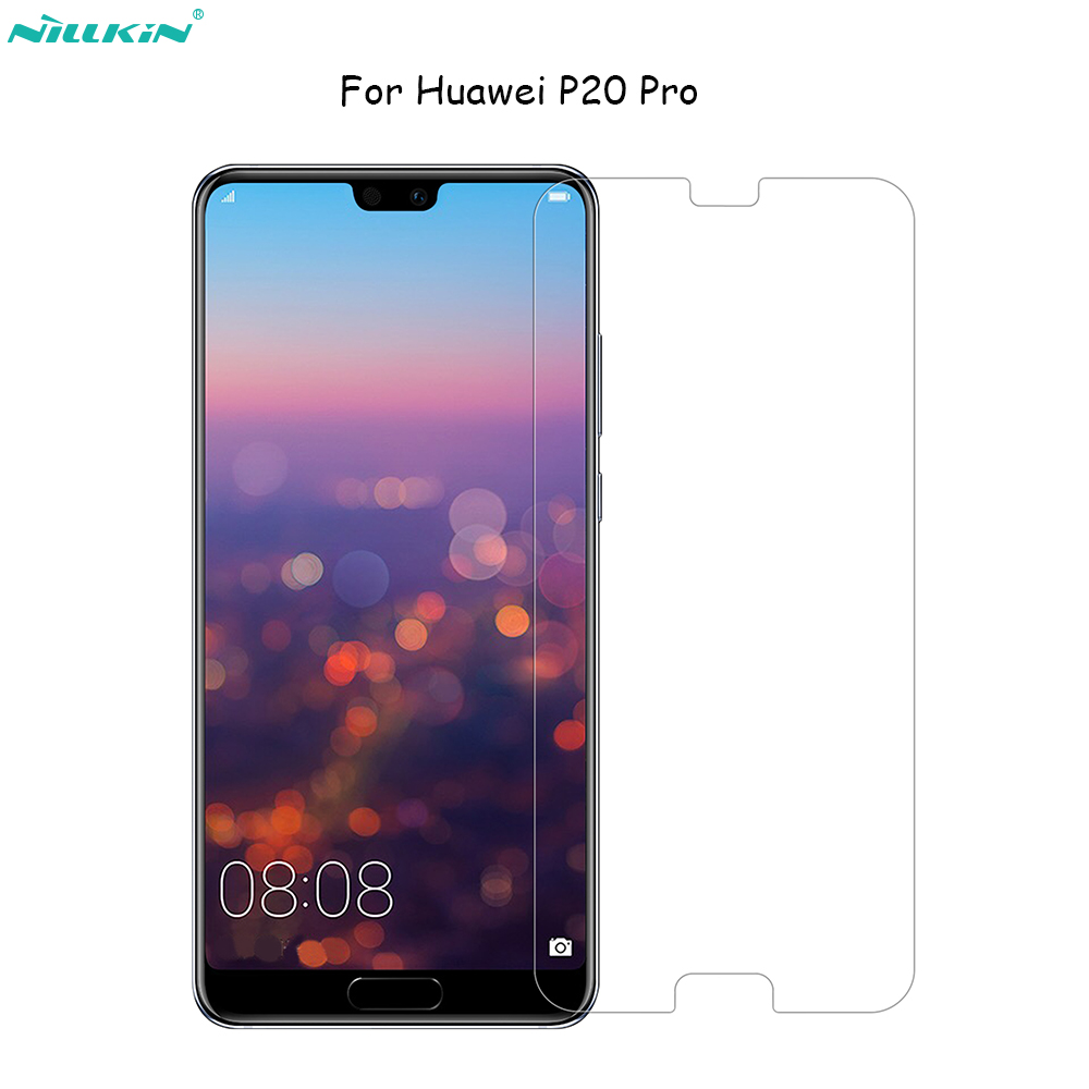 For huawei P20 Pro Glass Nillkin Amazing H H PRO Tempered Glass phone Screen Protector For huawei p30 Lite cover 9H Glass Film in Phone Screen Protectors from Cellphones Telecommunications